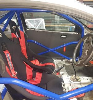 Ford Puma Bolt in Multipoint Competition Roll Cage