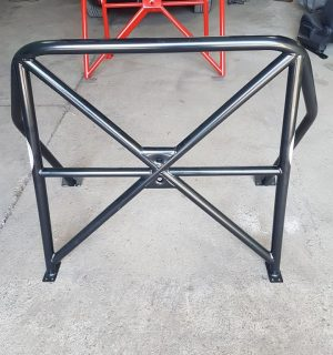 MK2 Citroen Saxo Half Cage – Stripped interior