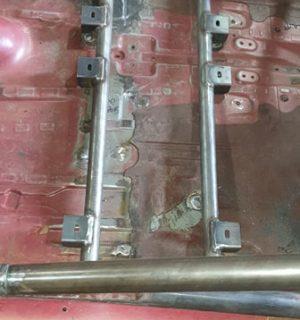 38×1500 Full width seat rail kit