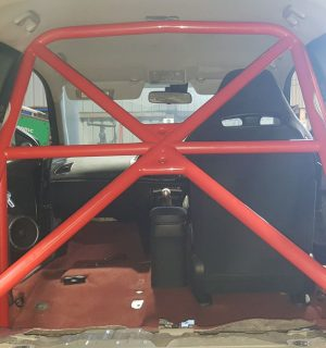 Honda Civic FN2 Half Cage