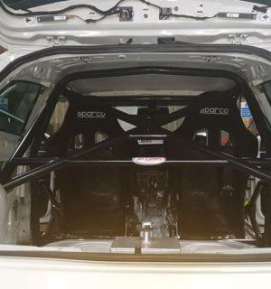 MK3 Seat Leon Half Cage –  Stripped interior