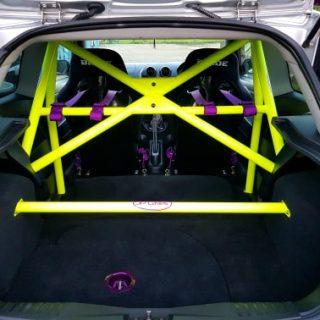 MK6 Ford Fiesta ST150 Half Cage