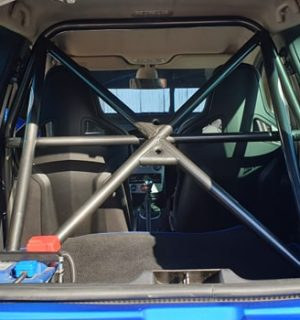 Renault Clio MK3 197/200 Half Cage