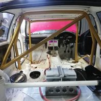 BMW E36 Compact Bolt in Dash Dodger Roll Cage