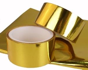 Gold Heat Reflective Tape