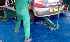 Motorsport PVC Race Rally Ground Sheet