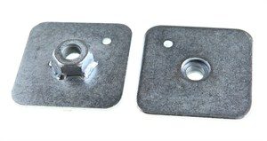Harness Eye bolt backing plate