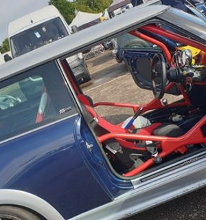 Mini R50 / R53 Bolt In Multipoint Competition Roll Cage