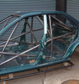 Custom Cages Subaru Impreza 4 Door GC8 – International Multipoint Weld in Kit