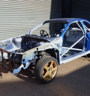 Custom Cages Subaru Impreza 2 Door GC8 – International Multipoint Weld in Kit
