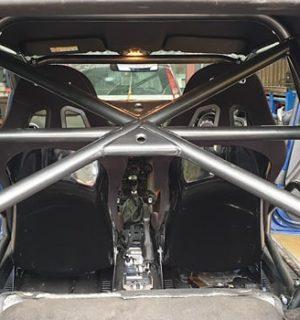 MK7 Ford Fiesta Half Cage