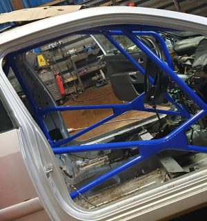 Ford Fiesta MK6 ST150 Multipoint Competition Roll Cage